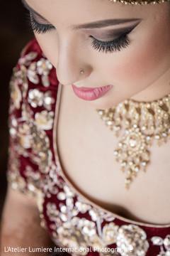 indian wedding gallery,indian bride makeup,bridal jewelry