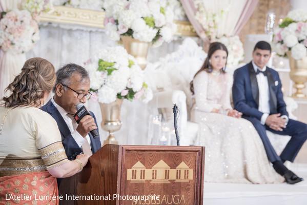 Indian wedding speech scene