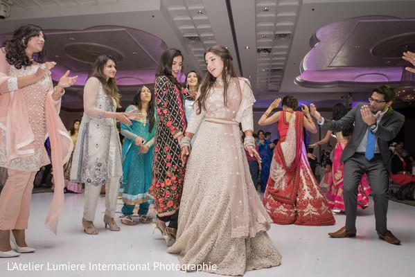 Indian bride dancing capture
