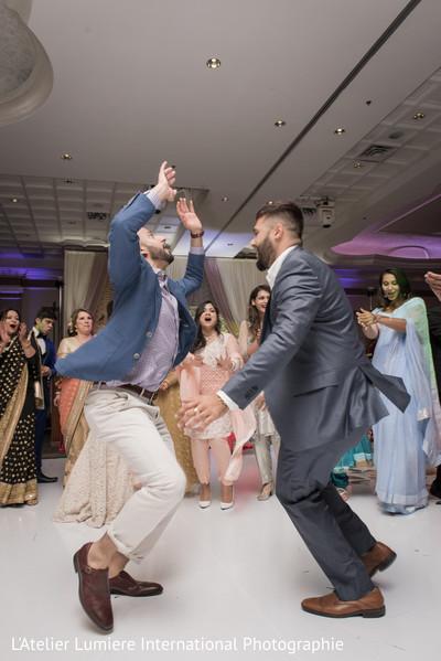 Upbeat indian wedding reception