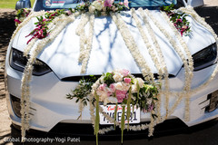 Indian wedding car photography