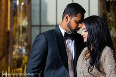 Indian lovebirds' tender shot