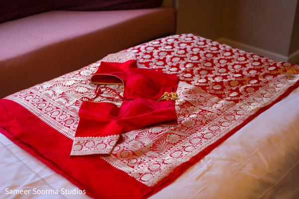 Wonderful indian bride's lengha design