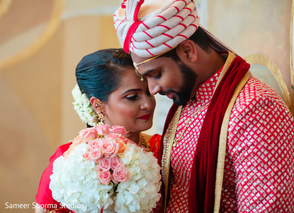 Indian couple's sweet shot