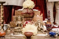indian wedding ceremony,ganesha,indian wedding decor