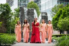 indian bride m,indian wedding ceremony fashion,indian bridesmaids
