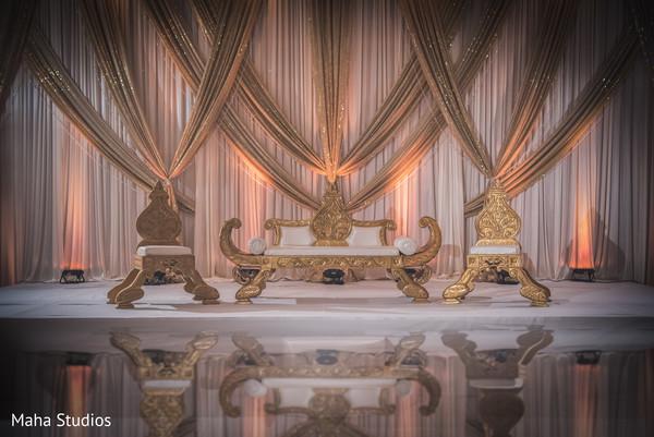Gorgeous indian wedding stage