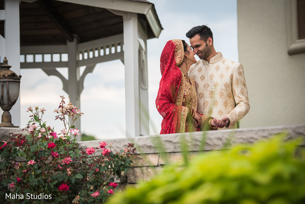 Beautiful indian couple's portrait