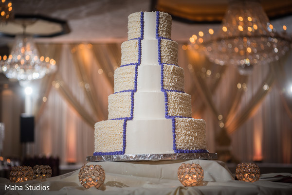 Fabulous indian wedding cake