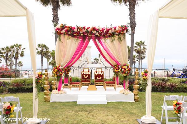 indian wedding ceremony,indian wedding ceremony floral and decor,mandap