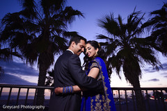 Dreamy indian newlyweds photo shoot