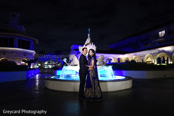 outdoor photography,indian wedding reception photography,indian bride and groom