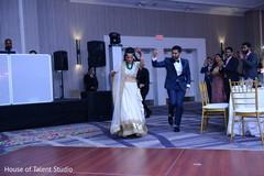 indian wedding,wedding reception,indian newlyweds