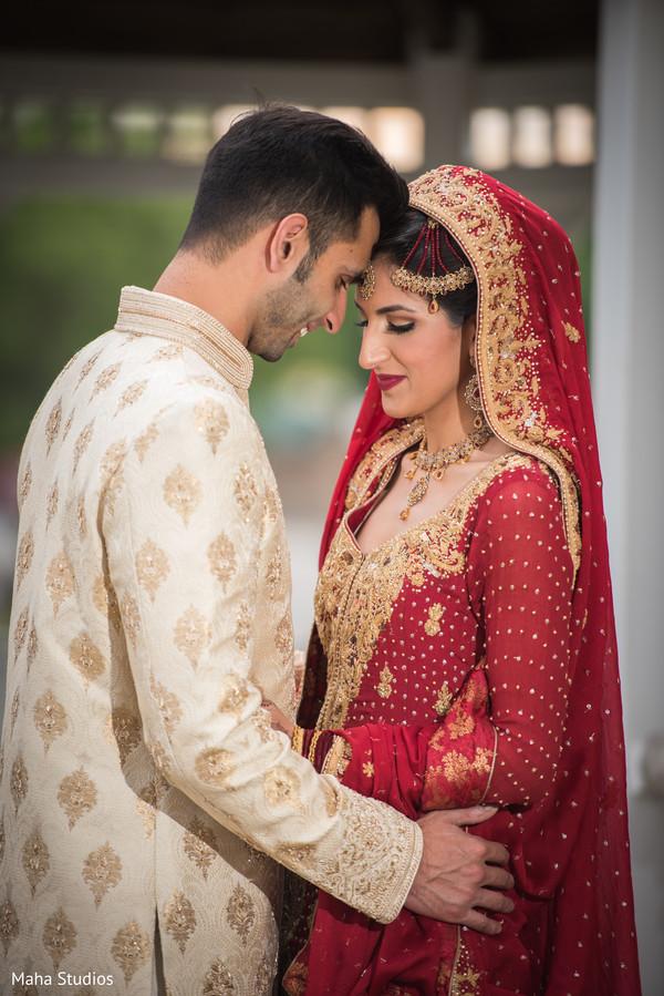 Indian couple's wedding style