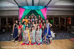 indian wedding gallery,sangeet,indian bride,indian bridesmaids