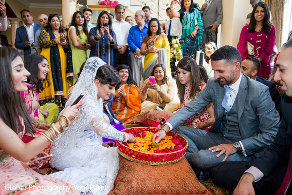 Traditional indian wedding ceremony ritual