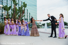 indian wedding gallery,outdoor photography,indian bride and groom,indian bridesmaids