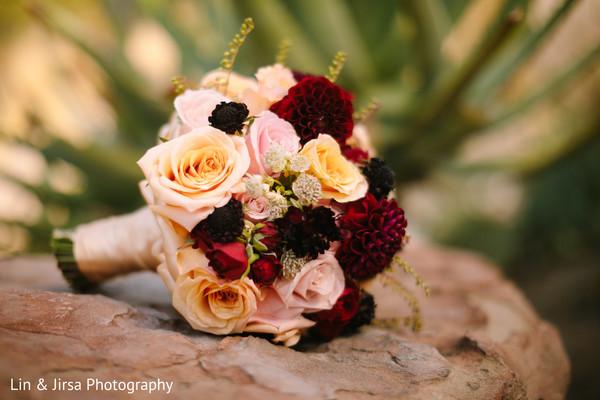 Unique indian bridal bouquet