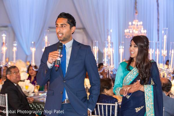 Indian groomsman's wedding speech