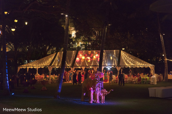 Lovely outdoor indian wedding