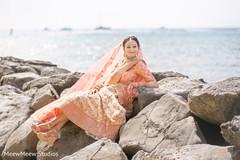 Gorgeous indian bridal lengha