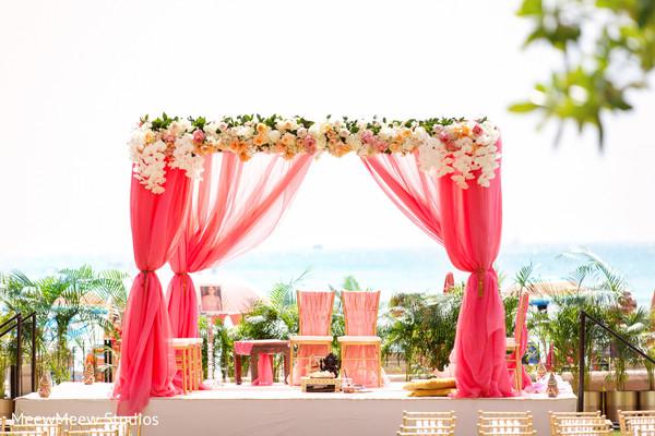mandap,outdoor mandap,indian wedding