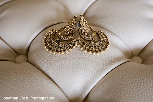 Marvelous indian bridal earrings
