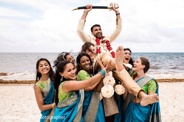 indian wedding gallery,outdoor photography,indian groom,indian bridesmaids