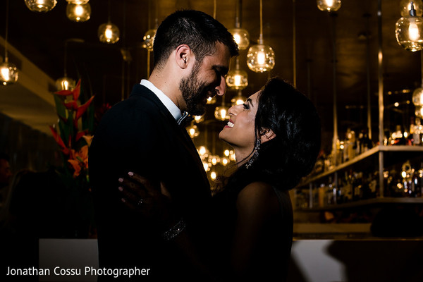 Breath taking indian wedding reception photo session
