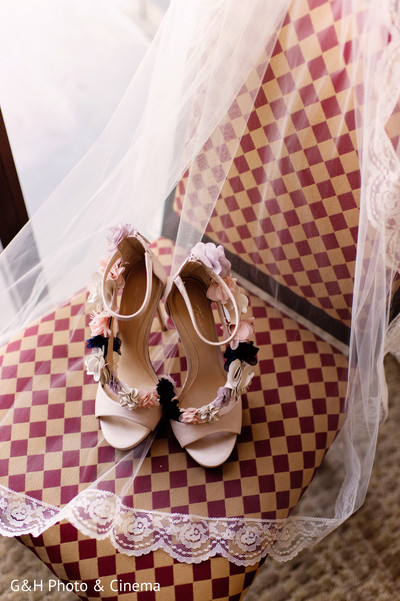 Gorgeous bridal shoes