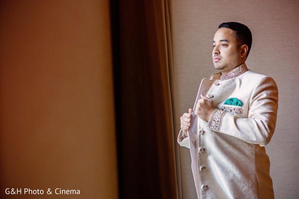 getting ready,indian groom fashion
