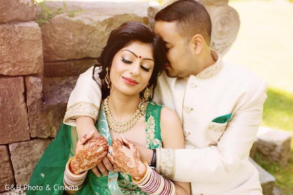 mehndi,indian bride fashion
