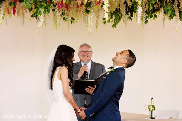 indian wedding,fusion wedding