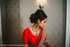 Stunning indian bride