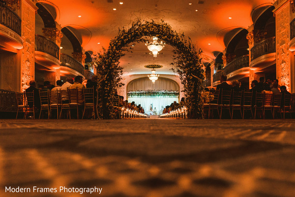 Marvelous indian wedding ceremony setting