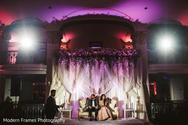 indian wedding stage,indian wedding reception,lighting