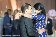Lovely indian couple dancing