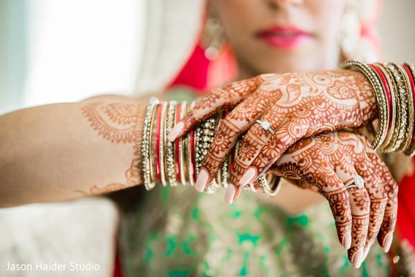 Perfect indian bridal mehndi