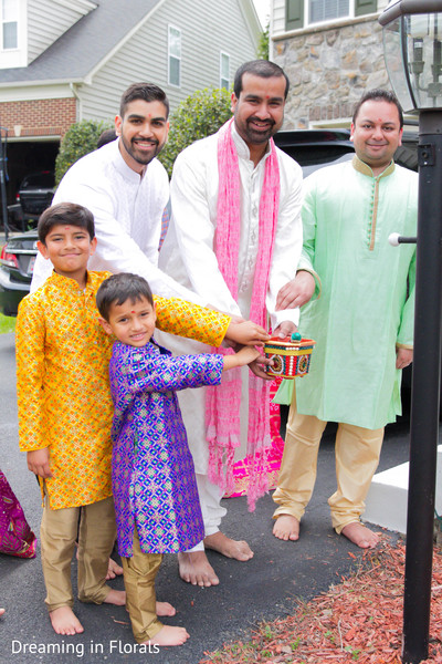Pre indian wedding celebrations