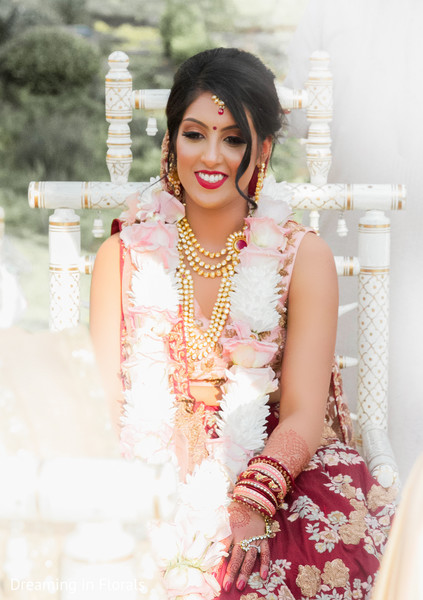 See this indian bride looking perfect