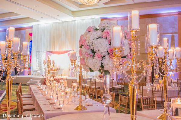Wonderful indian wedding reception design