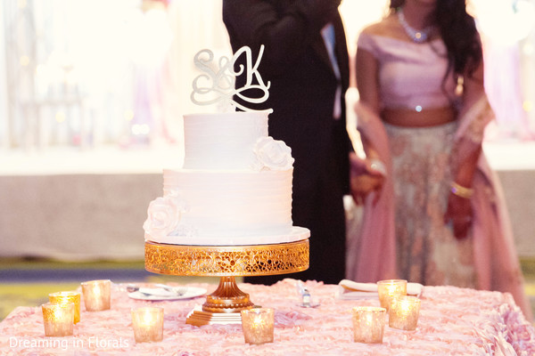 Marvelous indian wedding tier cake