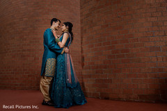 Ravishing indian couple's photo session