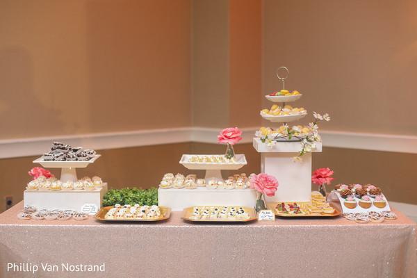 Exquisite indian wedding desserts