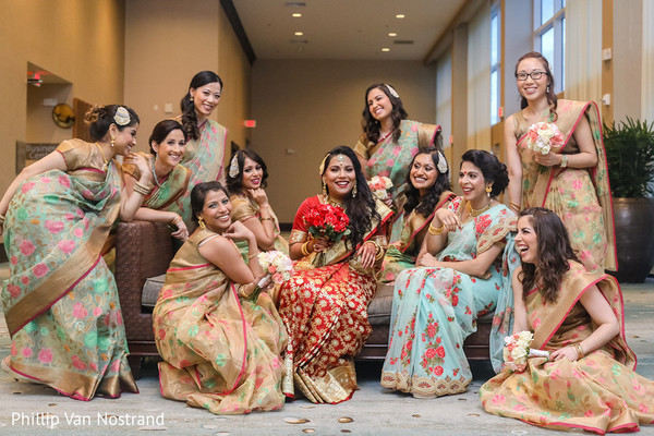 indian wedding gallery,indian bride fashion,indian bridesmaids fashion