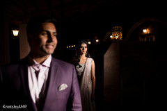 Creative indian bride and groom capture