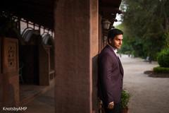 Fashionable indian groom