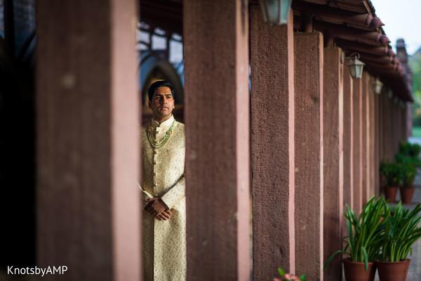 Indian groom capture