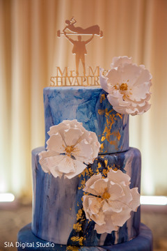 Fabulous indian wedding cake
