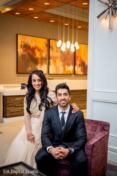 Adorable indian couple capture